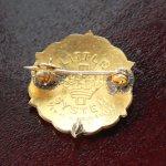 画像3: USAヴィンテージピンバッジ白10KGF キリスト教聖品PRESBYTERIAN教会日曜学校メンバーブローチ (3)