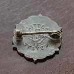 画像3: USAヴィンテージピンバッジ銅|キリスト教聖品PRESBYTERIAN教会日曜学校メンバーブローチ (3)