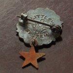 画像3: USAヴィンテージピンバッジ銅・星付|キリスト教聖品UNITED BRETHREN教会日曜学校メンバーブローチ (3)