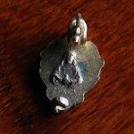 画像4: USAヴィンテージ聖心ピンバッジ|キリスト教聖品sacred heart of JesusカトリックブローチA (4)