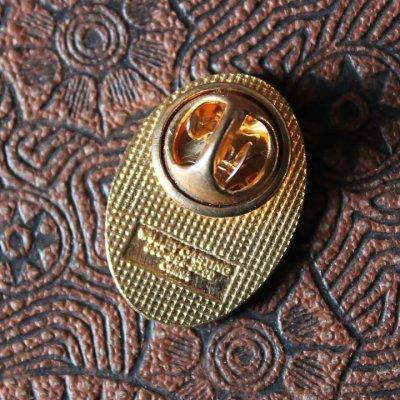 画像2: USA90s薔薇と十字架のピンバッジ|薔薇十字フリーメイソン聖品USAヴィンテージ