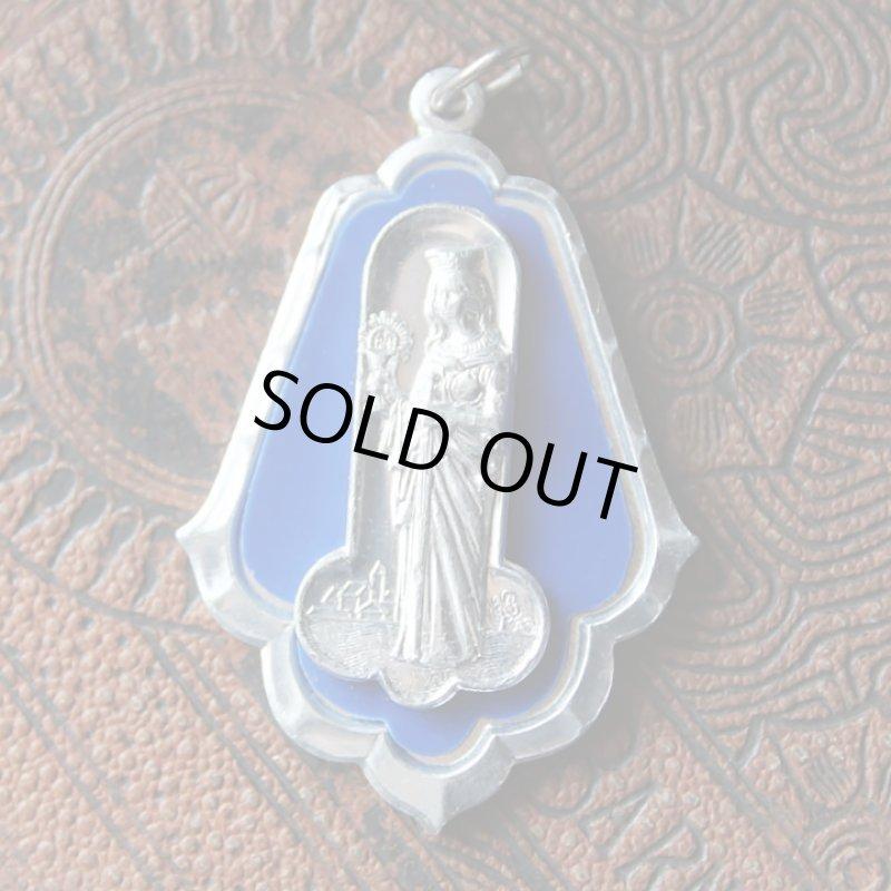 画像1: イタリアヴィンテージメダイ|聖バルバラギリシャ・東方正教会聖品アンティークメダイ (1)