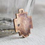 画像3: イエスキリストの横顔メダイ銅製ペンダントトップチャーム|カトリック聖品 (3)