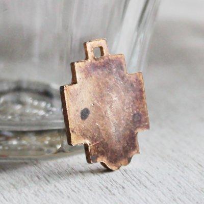 画像2: イエスキリストの横顔メダイ銅製ペンダントトップチャーム|カトリック聖品
