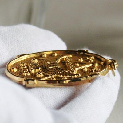画像3: アメリカヴィンテージSojourners ROTC勲章メダル 米軍ミリタリーフリーメイソンイーグルコンパス