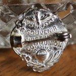 画像9: USAヴィンテージ初聖体・聖杯と聖霊のピンバッジピンズブローチ|first holy communionアンティークジュエリー (9)