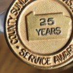 画像3: USAヴィンテージのキリスト教ペンシルベニア日曜学校25周年記念ピンバッジ|アンティークピンズブローチNY (3)