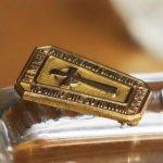 画像6: USAヴィンテージJOSTENS社製10KG.F.キリスト教PRESBYTERIAN CHURCHケルト十字クロスピンバッジ|アンティークブローチピンズ (6)