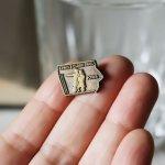ルイス&クラーク探検隊ピンバッジ|vintage pins アメリカ IOWA