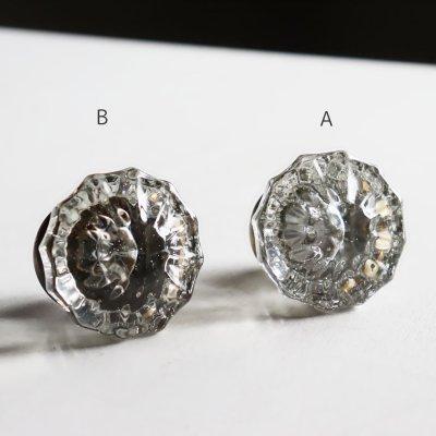 画像3: アンティークガラス製ドアノブB|USAヴィンテージ硝子ノブ真鍮座金ドアハンドル取手