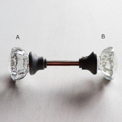 画像2: アンティークガラス製ドアノブC|USAヴィンテージ硝子ノブドアハンドル取手