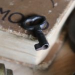 アンティークキー 古い錠前パドロック用の鉄製鍵