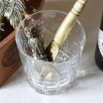 真鍮製フクロウボトルオープナー栓抜き|アンティークキッチン雑貨