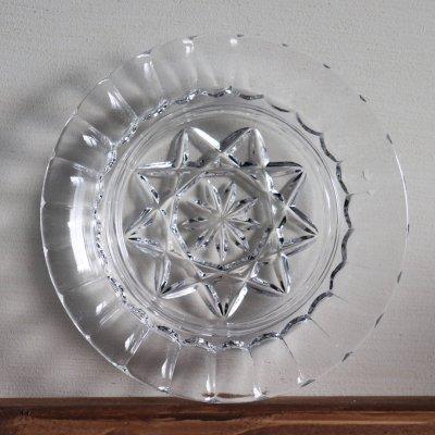 画像3: ヴィンテージクリスタルカットガラスチーズドーム・バターディッシュ|ミニケーキドームコンポートグラスケース
