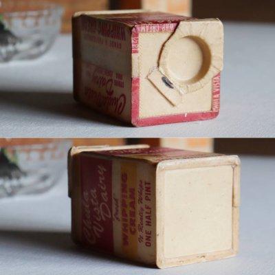 画像2: USAヴィンテージホイップクリームChula Vista Dairy空箱1/2PT.|アドバタイジング・キッチン雑貨