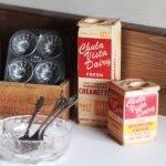 USAヴィンテージフレッシュクリーム空箱Chula Vista Dairy アンティークキッチン雑貨