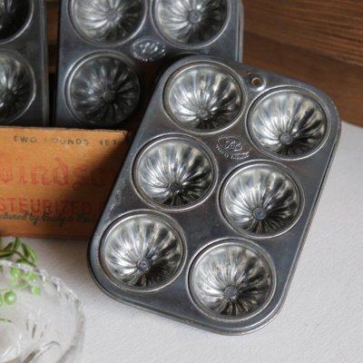 画像1: イギリスヴィンテージTalaミニマフィンモールドSサイズ|英国アンティークキッチン雑貨ベイクド菓子型