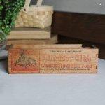 USAヴィンテージ木製チーズボックスWindsor Club|アンティークキッチン雑貨ウッドボックスCheese box