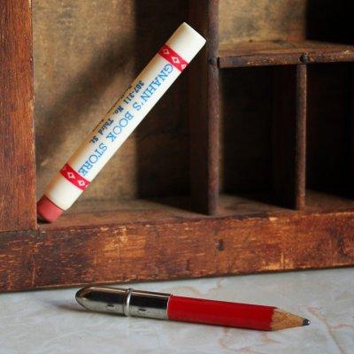 画像2: USAアメリカヴィンテージバレットペンシル|弾丸型アドバタイジング鉛筆GNAHN'S BOOK STORE