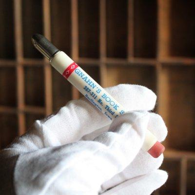 画像3: USAアメリカヴィンテージバレットペンシル|弾丸型アドバタイジング鉛筆GNAHN'S BOOK STORE