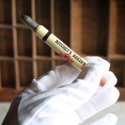 画像3: USAアメリカヴィンテージバレットペンシル|弾丸型アドバタイジング鉛筆RITCHEY'S BAKERY
