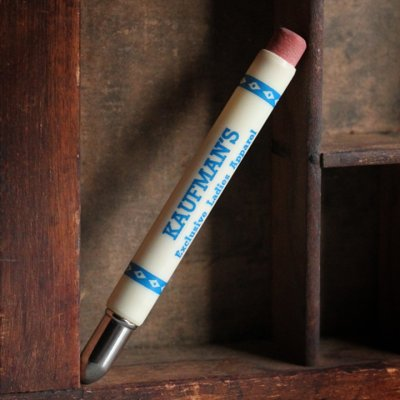 画像1: USAアメリカヴィンテージバレットペンシル|弾丸型アドバタイジング鉛筆 KAUFMAN'S・Exclusive Ladies Apparel