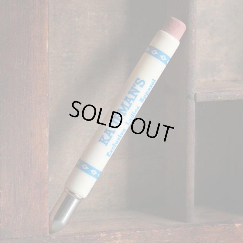 画像1: USAアメリカヴィンテージバレットペンシル|弾丸型アドバタイジング鉛筆 KAUFMAN'S・Exclusive Ladies Apparel (1)