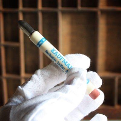 画像3: USAアメリカヴィンテージバレットペンシル|弾丸型アドバタイジング鉛筆 KAUFMAN'S・Exclusive Ladies Apparel