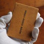 画像3: USAアメリカヴィンテージミラーノートブックMIRRO-MEMO BOOK騙し絵&鏡付メモ帳|アンティーク珍品 (3)