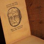 画像9: USAアメリカヴィンテージミラーノートブックMIRRO-MEMO BOOK騙し絵&鏡付メモ帳|アンティーク珍品 (9)