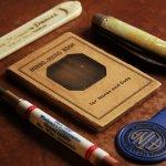 画像11: USAアメリカヴィンテージミラーノートブックMIRRO-MEMO BOOK騙し絵&鏡付メモ帳|アンティーク珍品 (11)