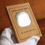 画像13: USAアメリカヴィンテージミラーノートブックMIRRO-MEMO BOOK騙し絵&鏡付メモ帳|アンティーク珍品 (13)