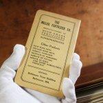 画像9: USAヴィンテージ紙ものメモ帳1930年代2冊組|カレンダー付ノートブックMILLER FERTILIZER (9)