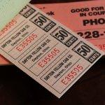 画像9: USAヴィンテージ紙ものクーポンチケットブック1960年代|タクシーYellow Cab DAYTON,OHIO (9)