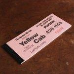 画像3: USAヴィンテージ紙ものクーポンチケットブック1960年代|タクシーYellow Cab DAYTON,OHIO (3)