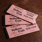 画像6: USAヴィンテージ紙ものクーポンチケットブック1960年代|タクシーYellow Cab DAYTON,OHIO (6)
