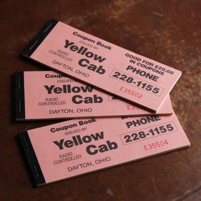 画像3: USAヴィンテージ紙ものクーポンチケットブック1960年代|タクシーYellow Cab DAYTON,OHIO