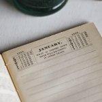 画像10: USAアンティーク紙ものノートブックレット1887年|Pierce's医療と健康の覚書帳簿 (10)