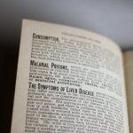 画像11: USAアンティーク紙ものノートブックレット1887年|Pierce's医療と健康の覚書帳簿 (11)