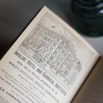 画像12: USAアンティーク紙ものノートブックレット1887年|Pierce's医療と健康の覚書帳簿 (12)