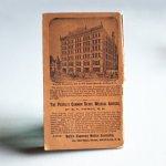 画像2: USAアンティーク紙ものノートブックレット1887年|Pierce's医療と健康の覚書帳簿 (2)