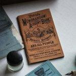 画像17: USAアンティーク紙ものノートブックレット1887年|Pierce's医療と健康の覚書帳簿 (17)