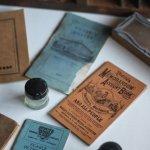 画像19: USAアンティーク紙ものノートブックレット1887年|Pierce's医療と健康の覚書帳簿 (19)