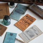 画像20: USAアンティーク紙ものノートブックレット1887年|Pierce's医療と健康の覚書帳簿 (20)