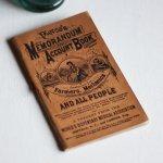 画像3: USAアンティーク紙ものノートブックレット1887年|Pierce's医療と健康の覚書帳簿 (3)