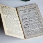 画像8: USAアンティーク紙ものノートブックレット1887年|Pierce's医療と健康の覚書帳簿 (8)