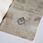 画像8: USAヴィンテージ紙ものフリーメイソンブックレット1929年|Sparta Masonic Templeウィスコンシン (8)