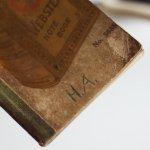画像7: USAヴィンテージ紙ものメモ帳ノートブック|WEBSTER dictionary note book (7)