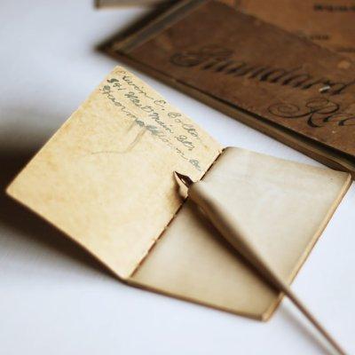 画像2: USAヴィンテージ紙ものメモ帳ノートブック|WEBSTER dictionary note book