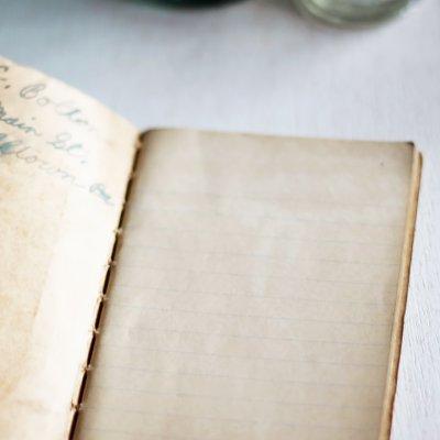 画像3: USAヴィンテージ紙ものメモ帳ノートブック|WEBSTER dictionary note book